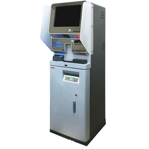自動外貨両替機(AES-KME)| ARUNAS 株式会社暁電機製作所